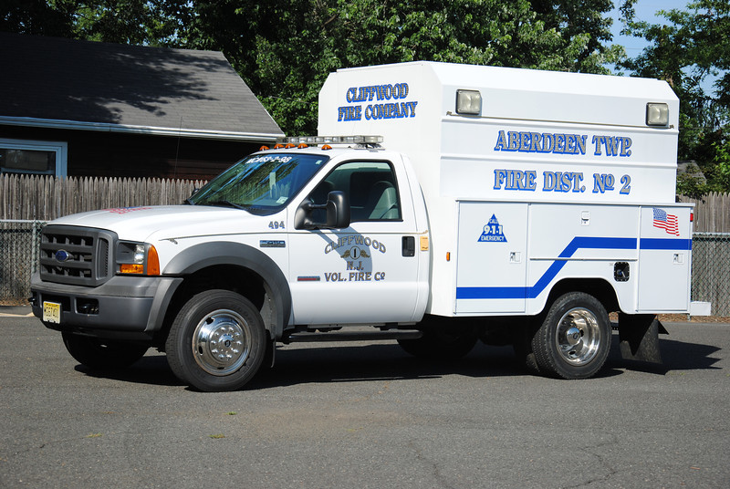 Cliftwood Fire Company Utility 63-2-98