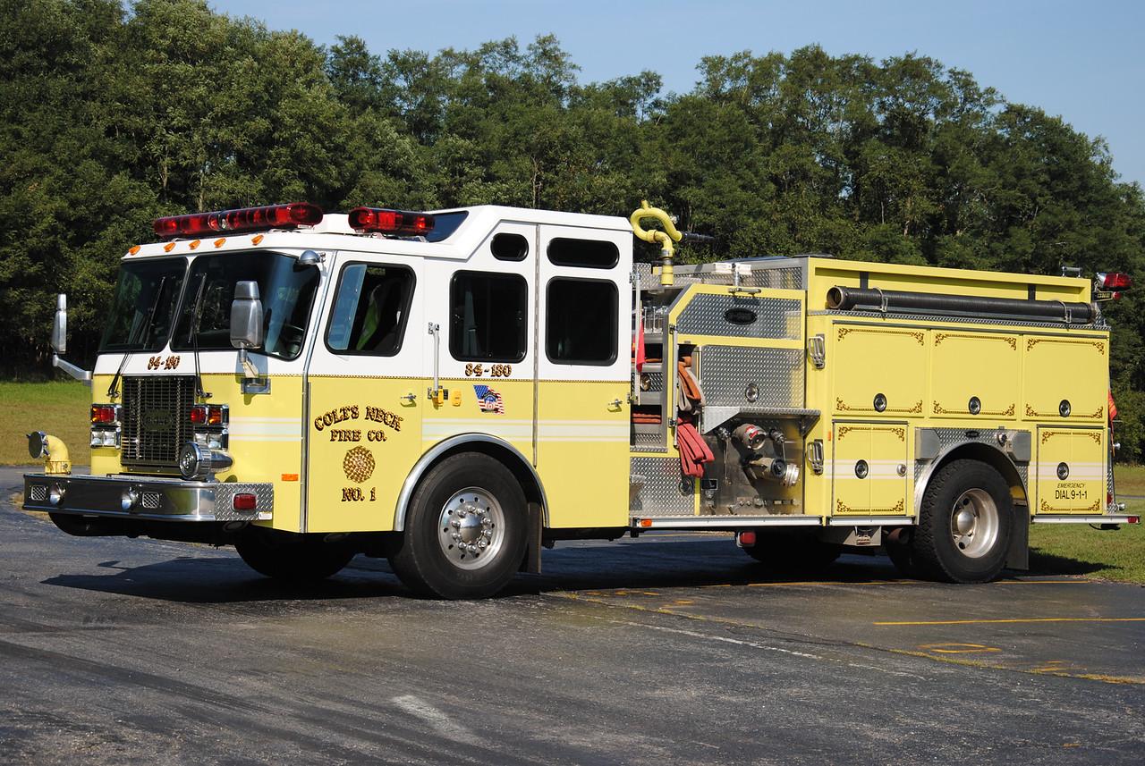 Colts Neck Fire Company #1, Colts Neck Engine 84-1-80