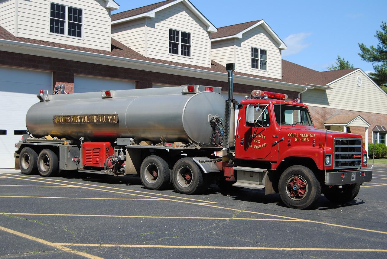 Colts Neck Fire Company #2 Tanker 84-2-96