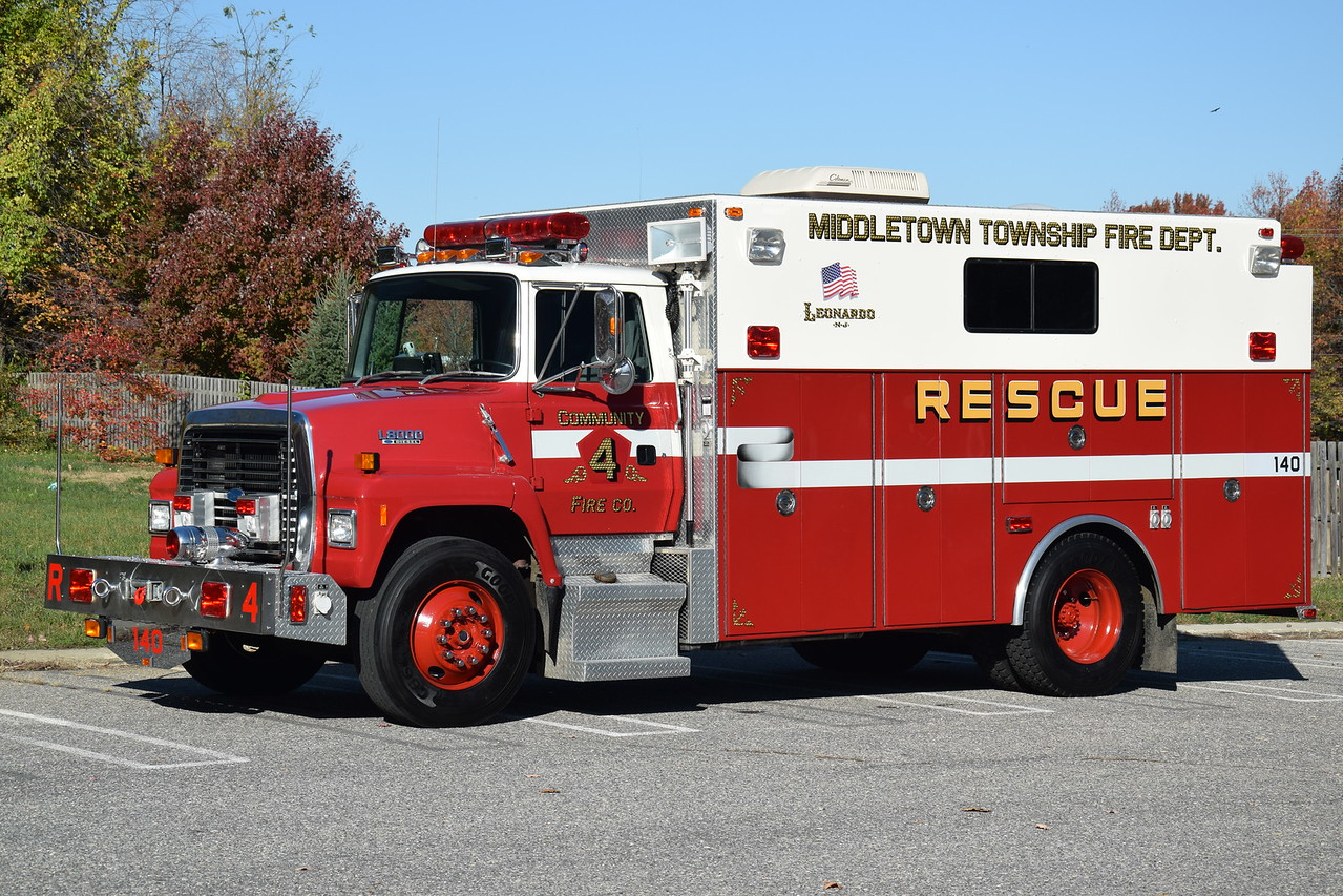 Community Fire Company #4 Rescue 31-4-85