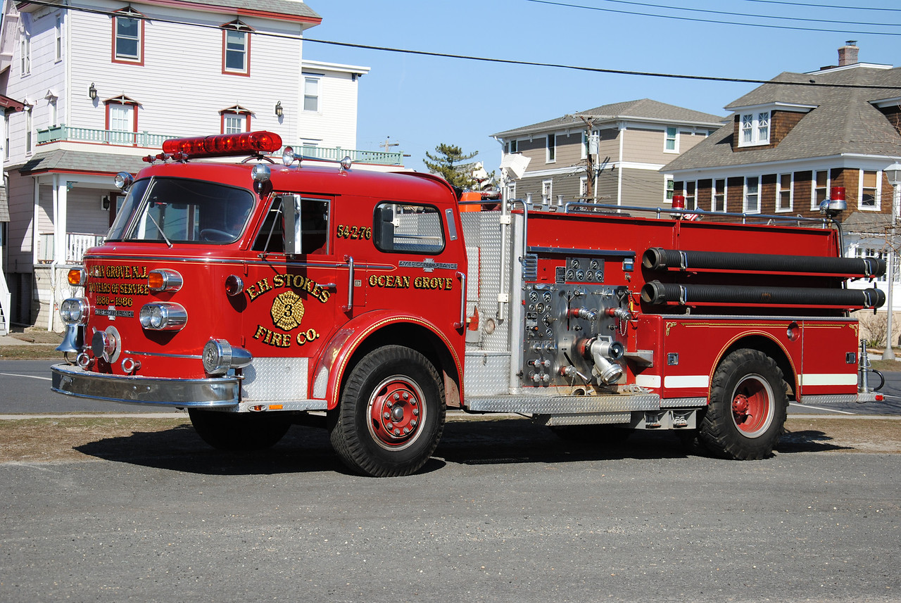 E.H. Stokes Fire Company, Ocean Grove Engine 54-2-76