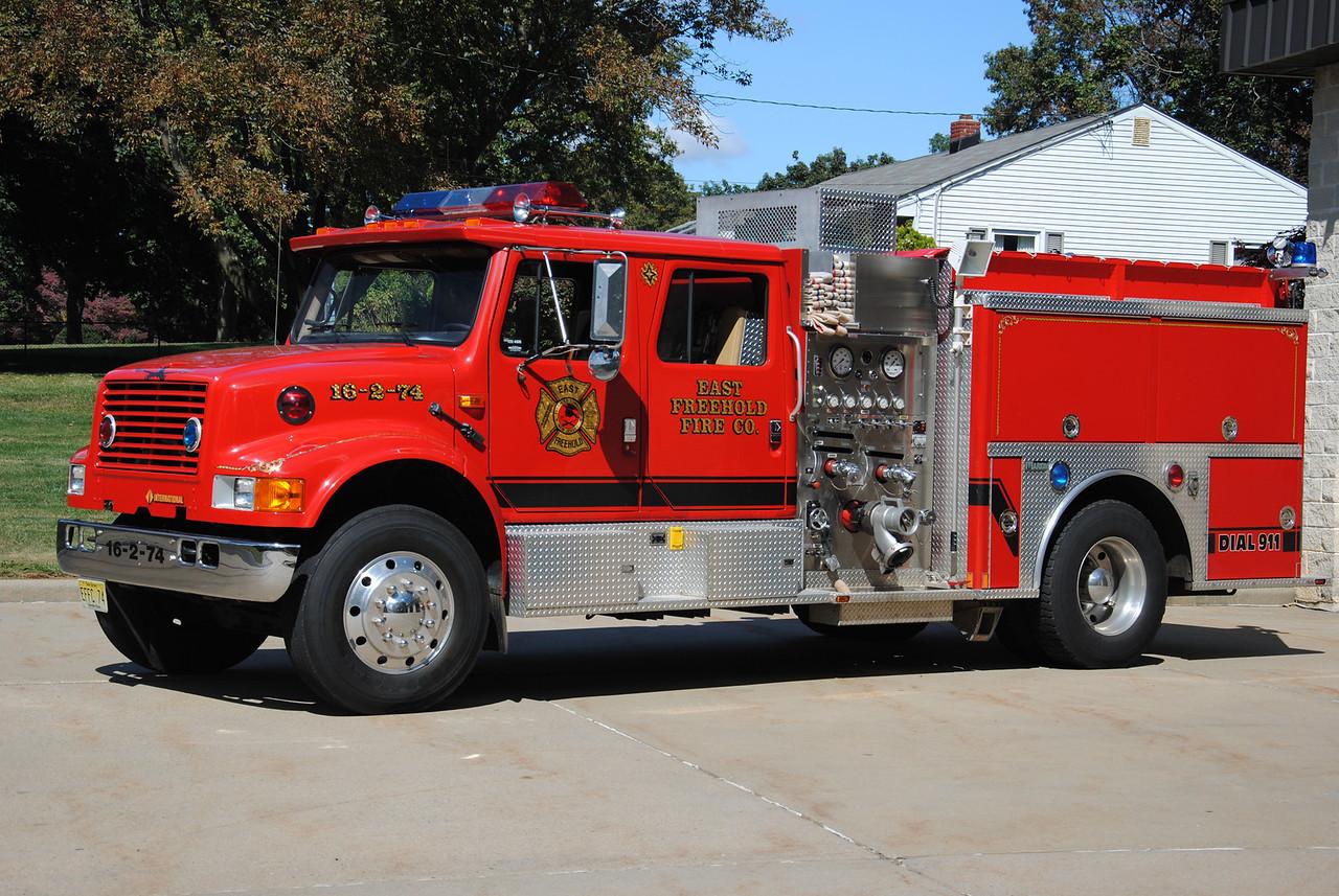 East Freehold Fire Company Engine 16-2-74