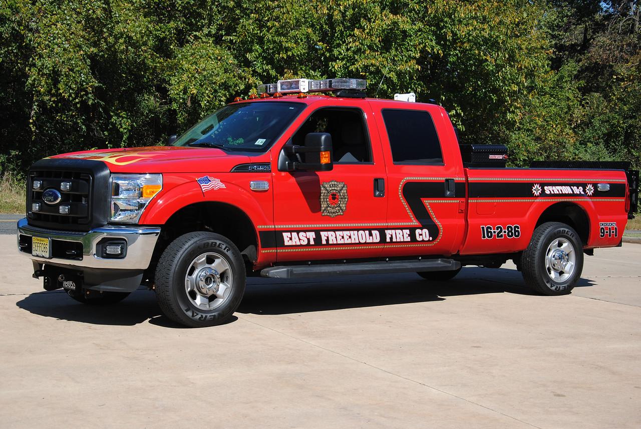 East Freehold Fire Company Utility 16-2-86