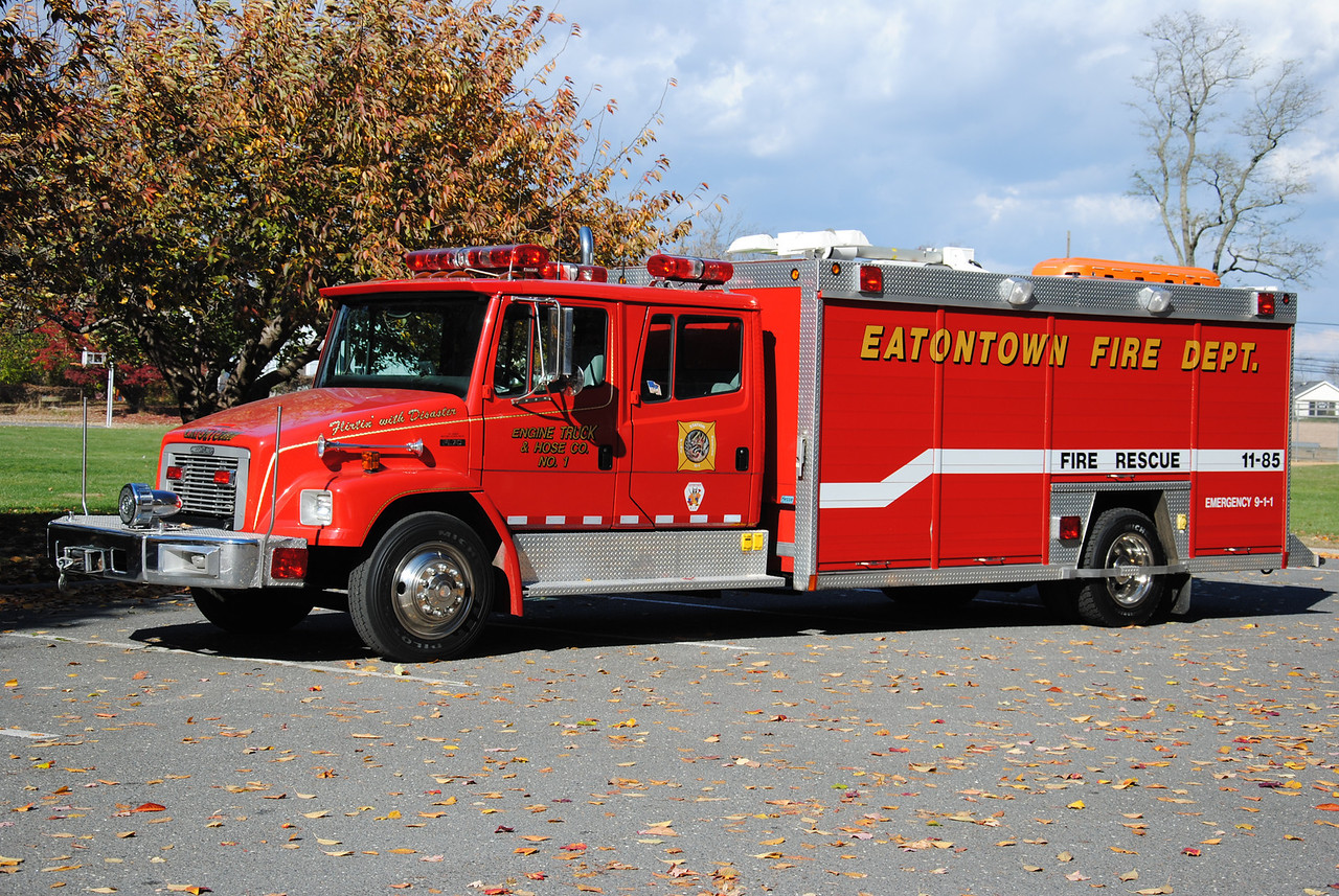 Engine, Truck, Hose Company #1, Eatontown Fire Department Rescue 11-85