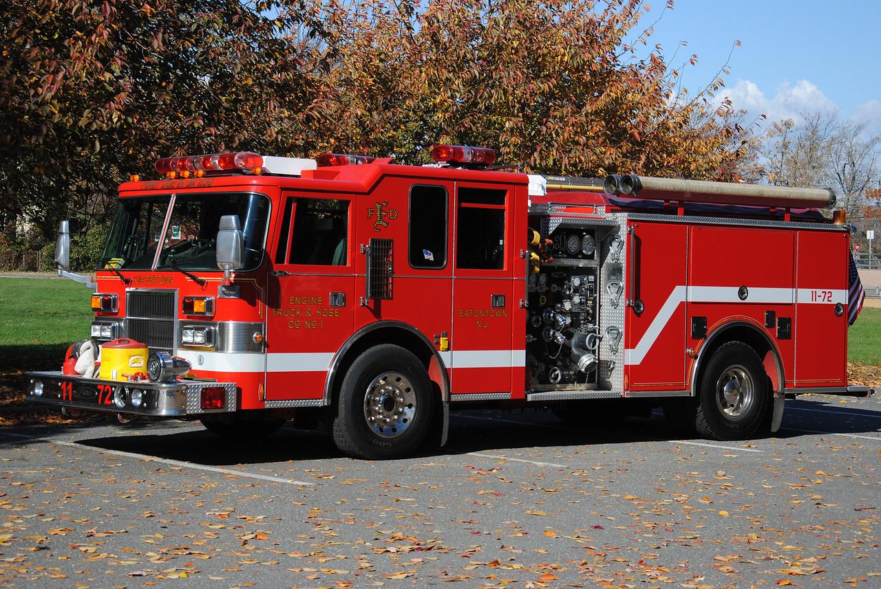 Engine, Truck, Hose Company #1 Engine 11-72