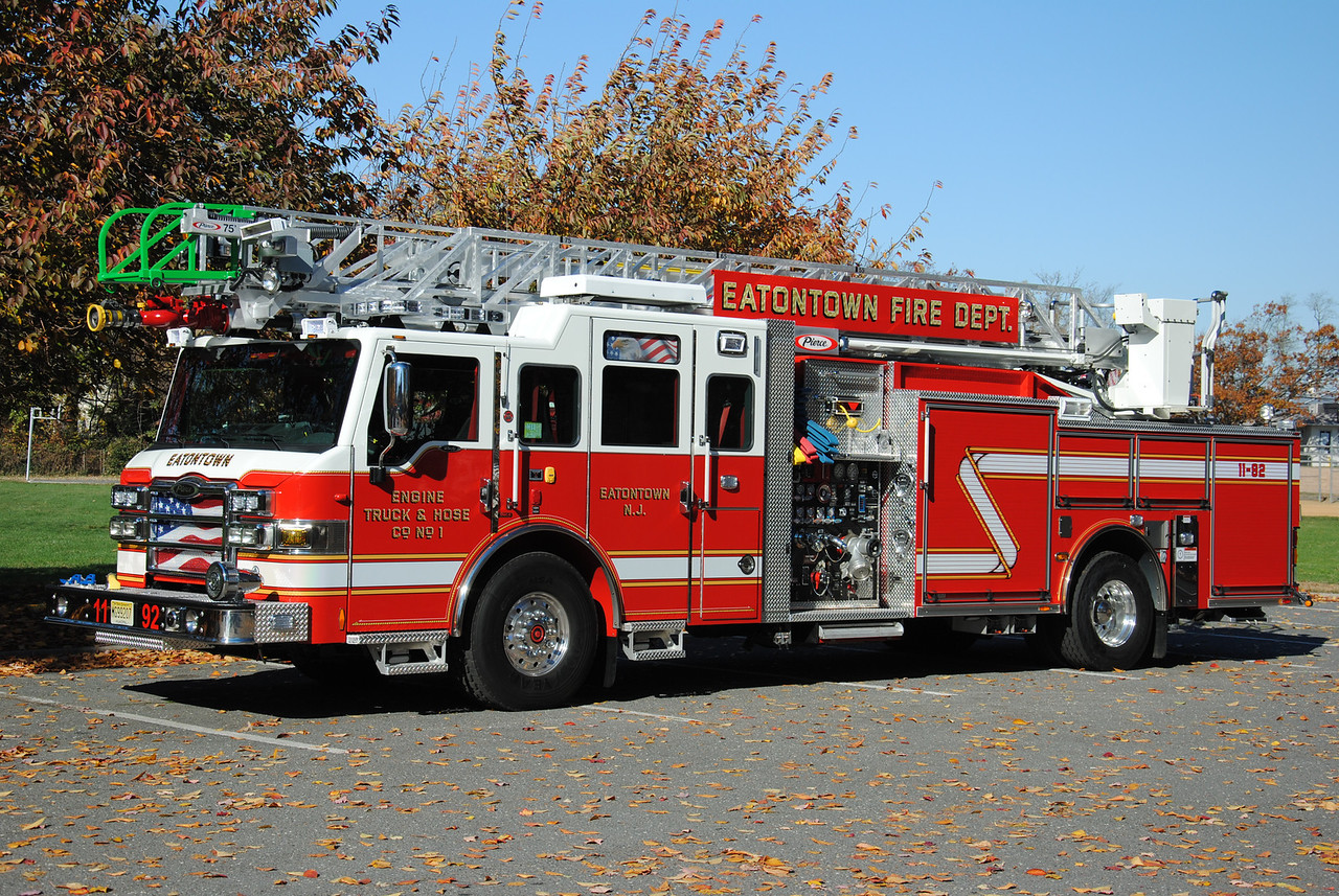 Engine, Truck, Hose Company #1, Eatontown Fire Department Quint 11-92