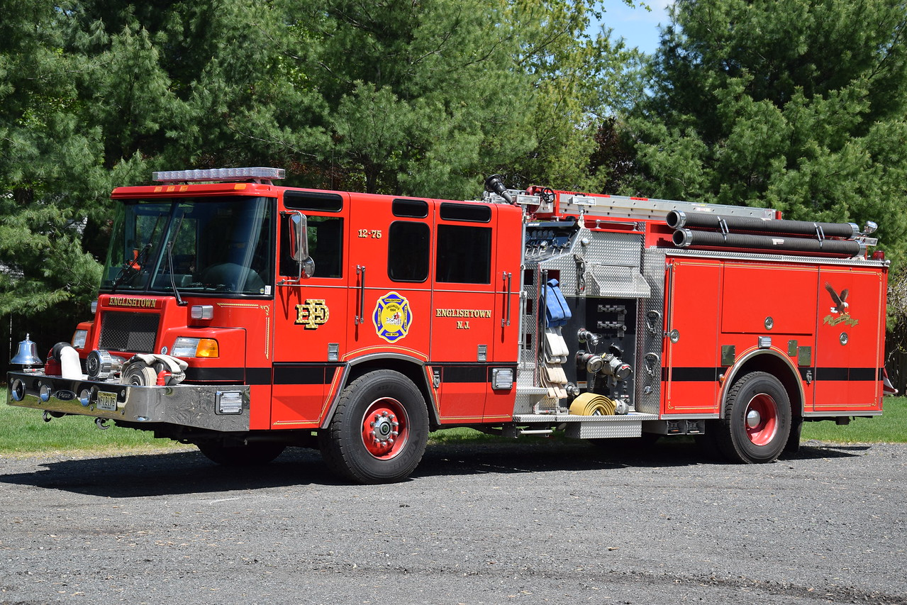 Englishtown Fire Department Engine 12-75
