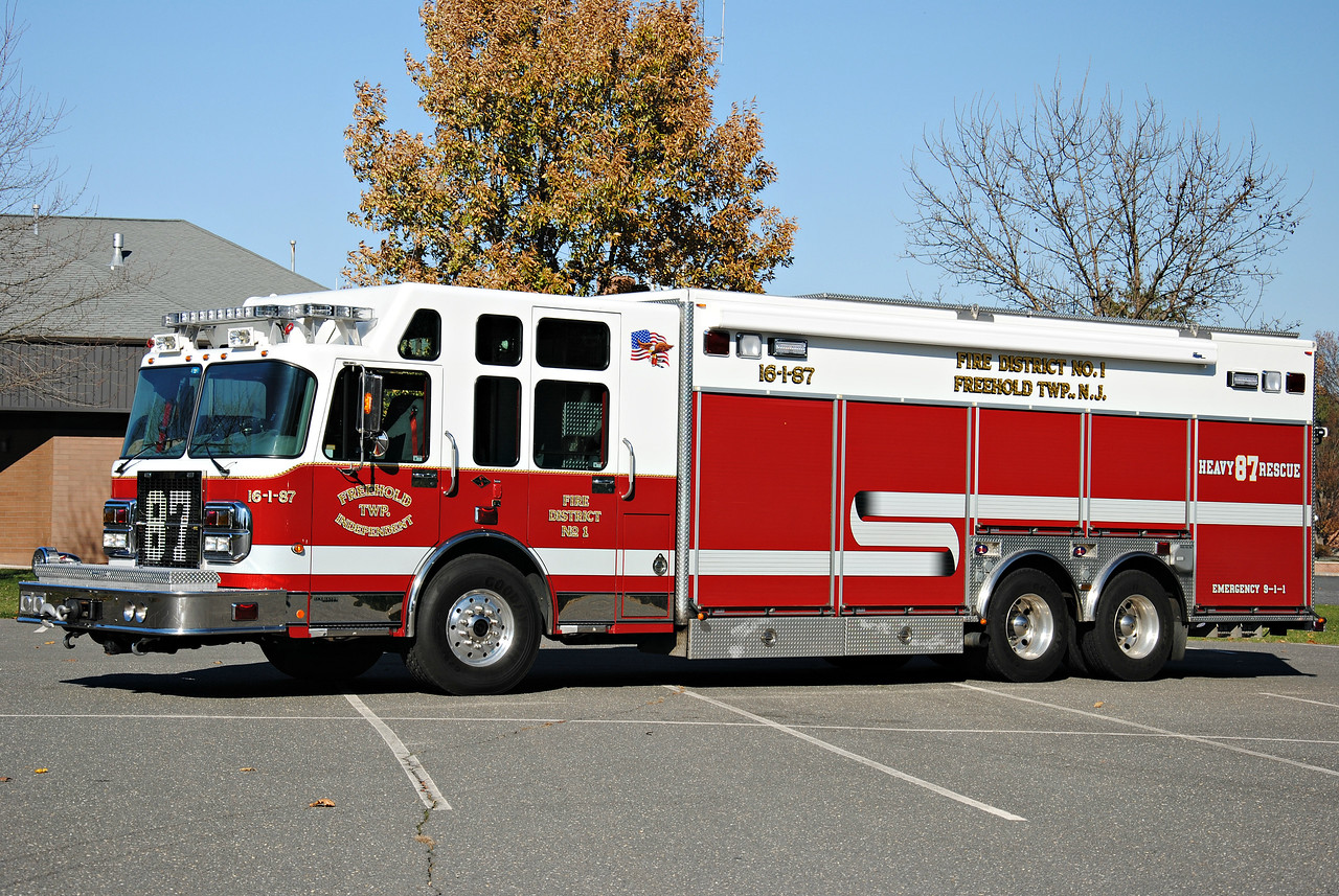Freehold Independent Fire Company Rescue 16-1-87