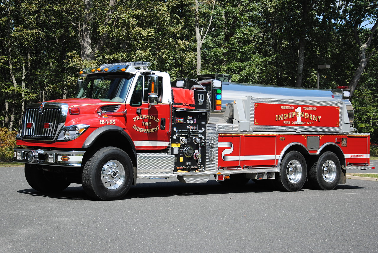 Freehold Independent Fire Company Tanker 16-1-95
