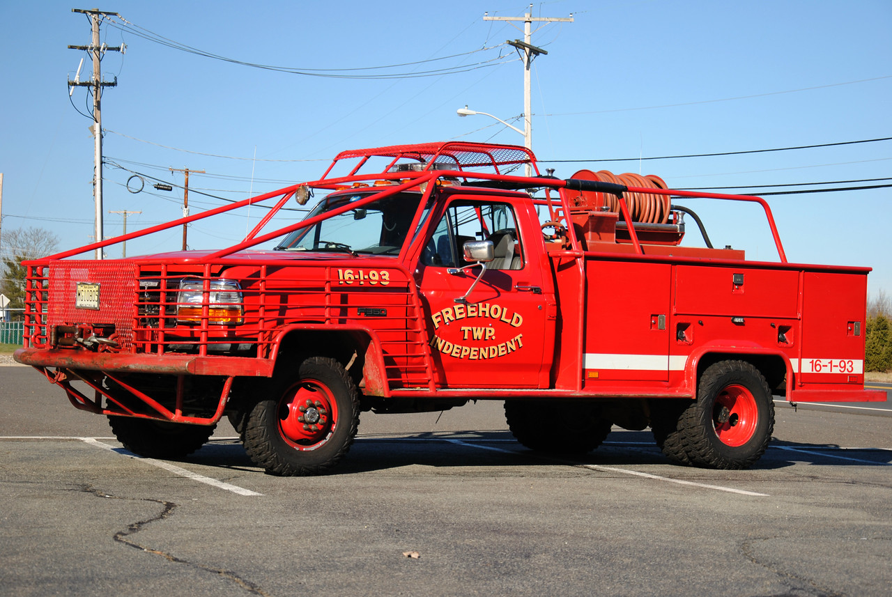 Freehold Independent Fire Company Brush 16-1-93