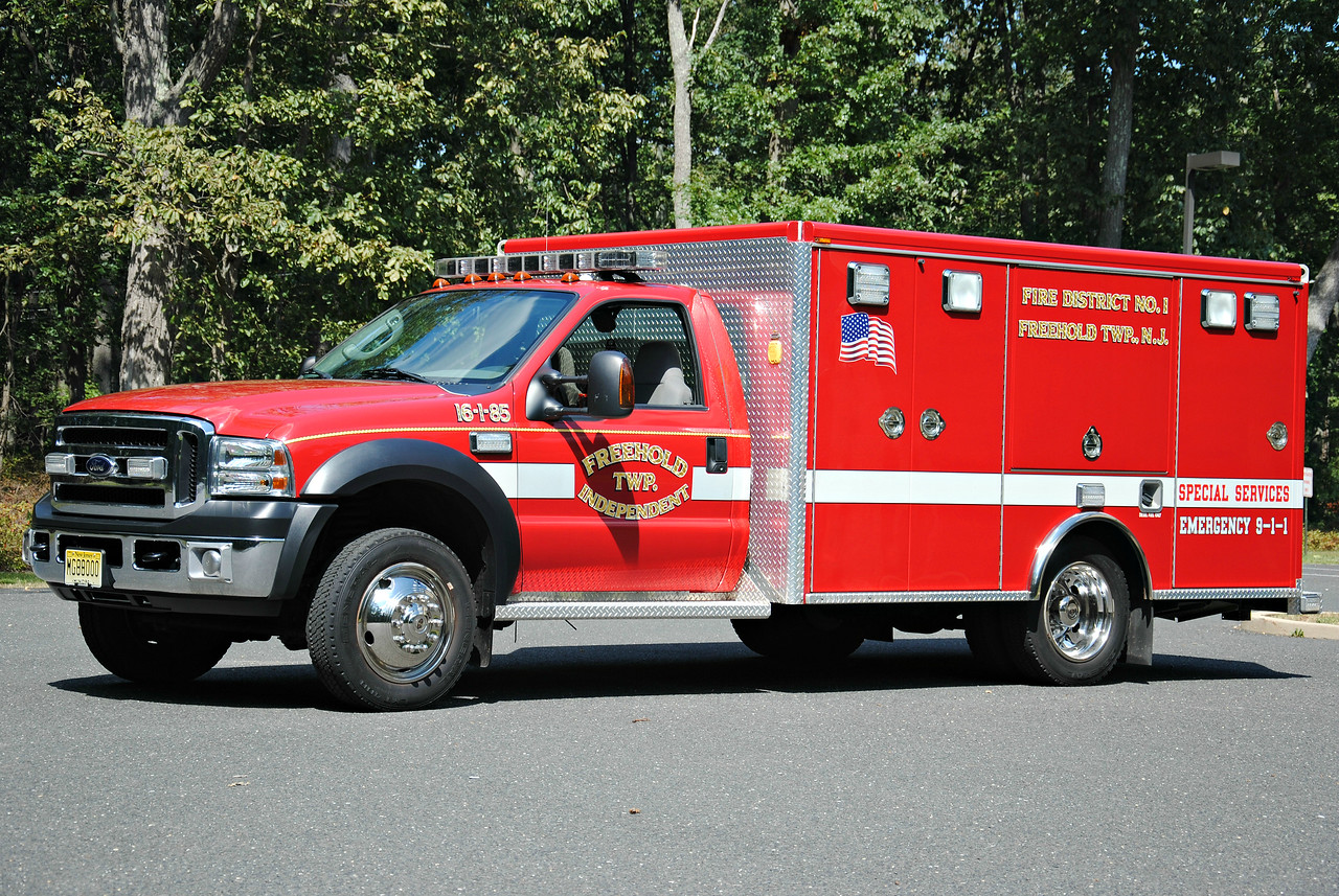 Freehold Independent Fire Company Rescue 16-1-85