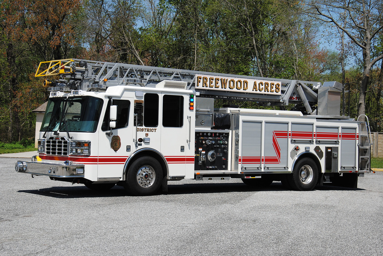 Freewood Acres Fire Company, Howell Twp Quint 19-5-91
