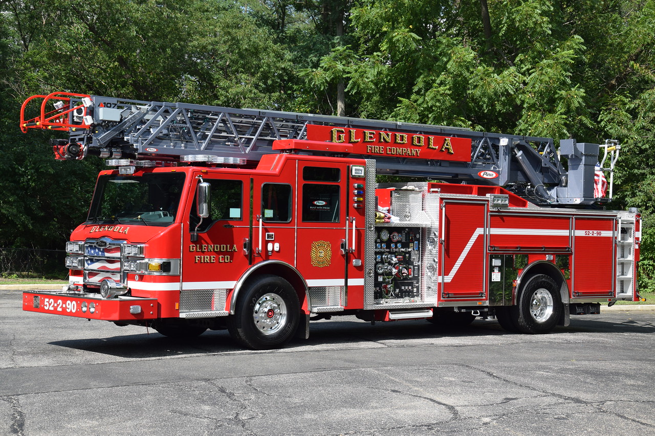 Glendola Fire Company Ladder 52-2-90