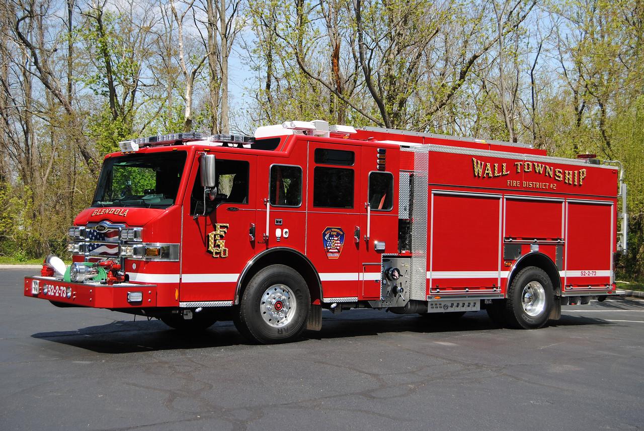 Glendola Fire Company,Wall Twp Engine 52-2-73