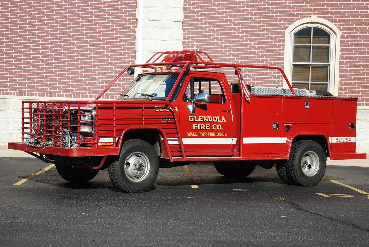 Glendola Fire Company, Wall Twp Brush 52-2-94