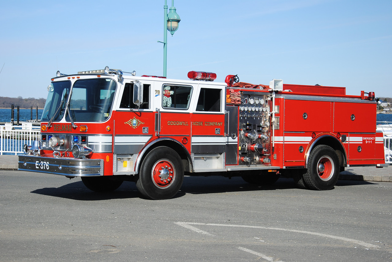 Goodwill Hose Company, Belmar Engine 87-3-76