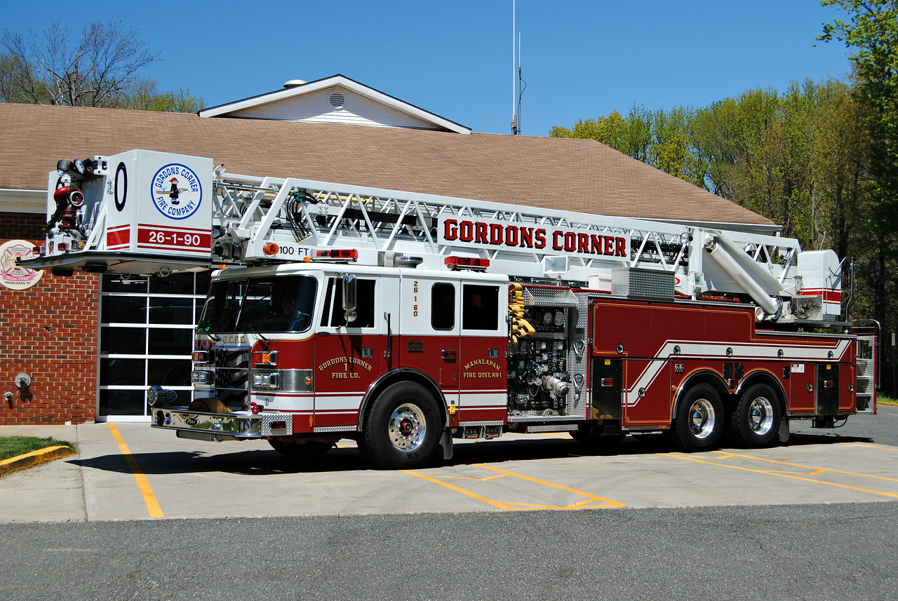 Gordons Corner Fire Company Tower 26-1-90