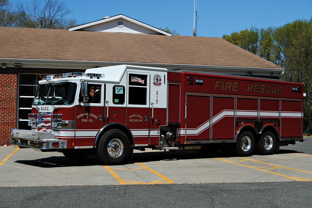 Gordons Corner Fire Company Engine-Rescue 26-1-80