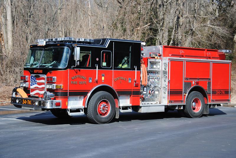 Neptune Twp Fire Department Engine 34-74