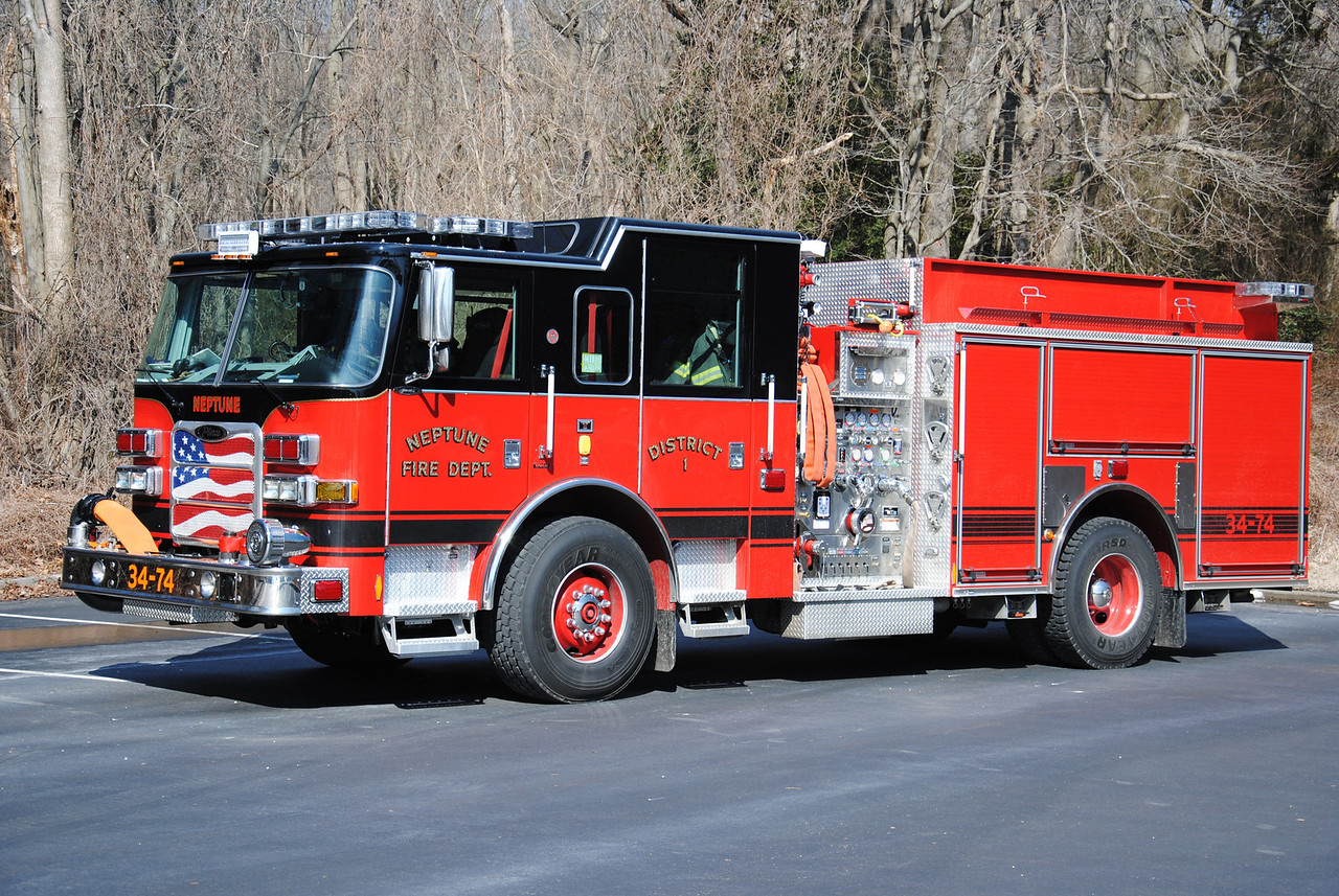 Neptune Twp Fire Department Engine 34-74