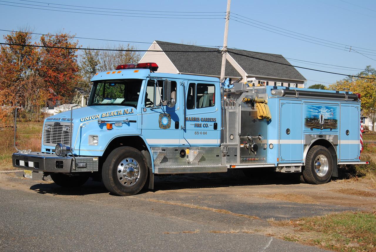Harris Gardens Fire Company, Union Beach Engine 65-4-84