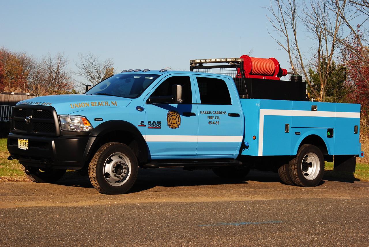 Harris Gardens Fire Company, Union Beach Brush 65-4-93