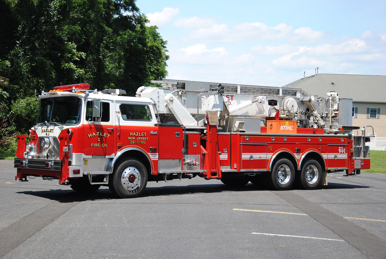 Hazlet Fire Company #1, Hazlet Tower 39-1-90