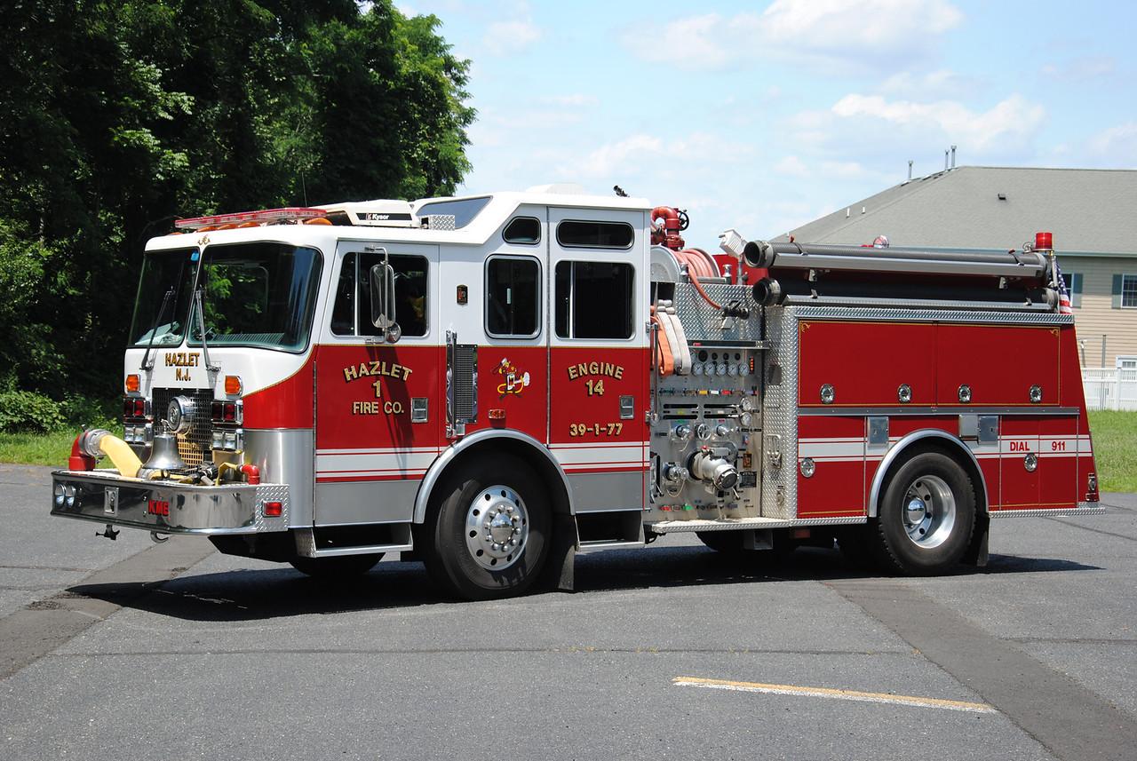 Hazlet Fire Company #1, Hazlet Engine 39-1-77