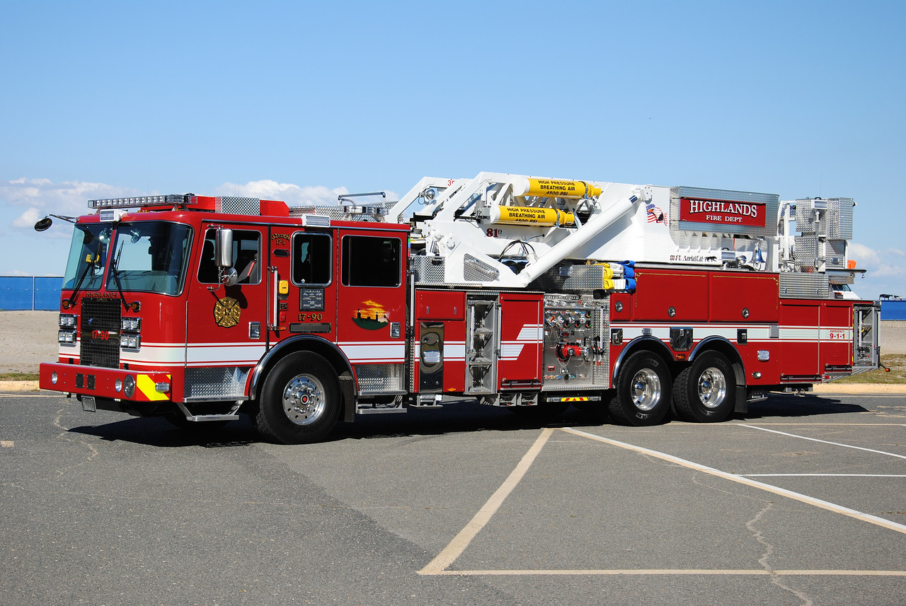 Highlands Fire Department, Highlands Tower 17-90