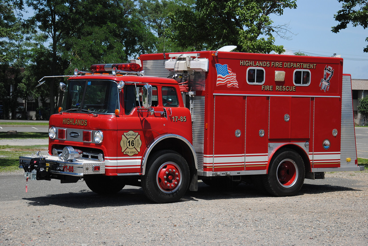 Highlands Fire Company, Highlands Rescue 17-85