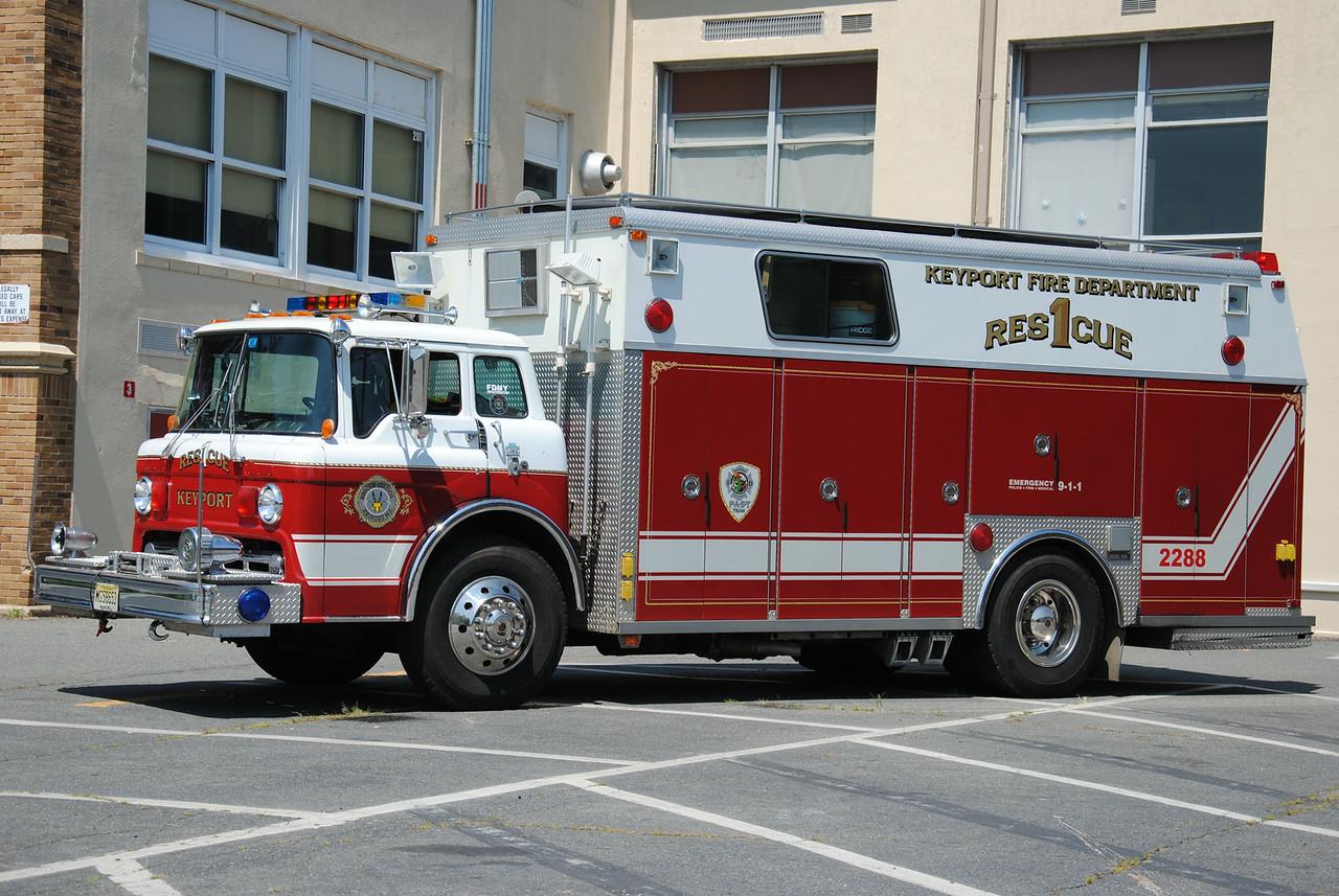 Rescue Company #1, Keyport Fire Department Rescue 22-88