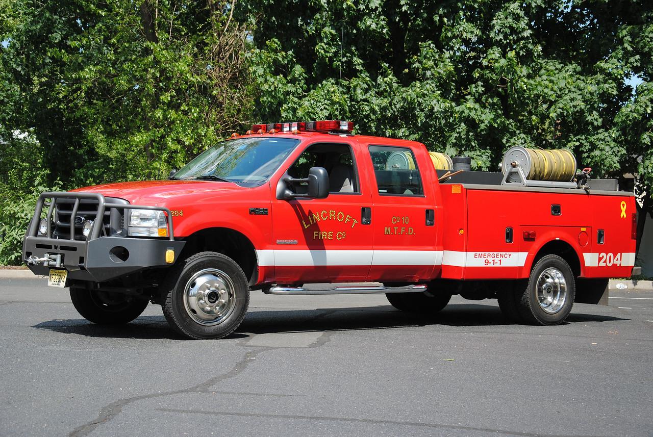 Lincroft Fire Company Brush 71-1-94