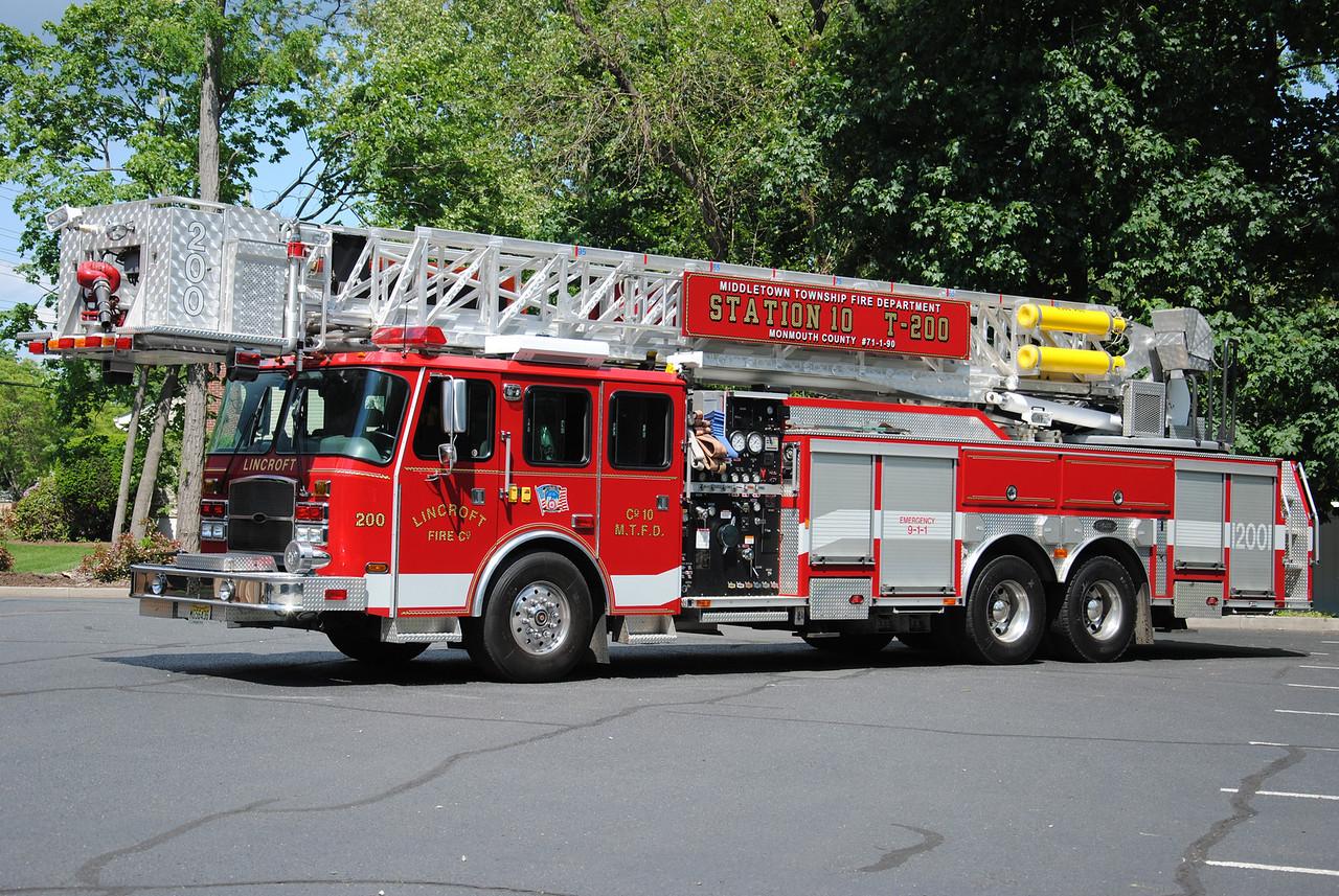Lincroft Fire Company Tower 71-1-90