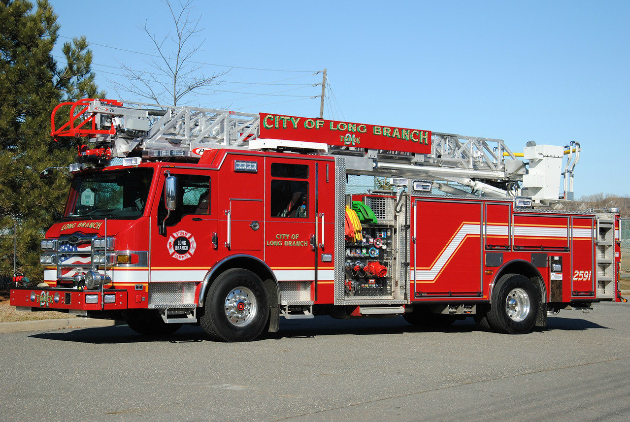 Long Branch Fire Department Quint 25-91