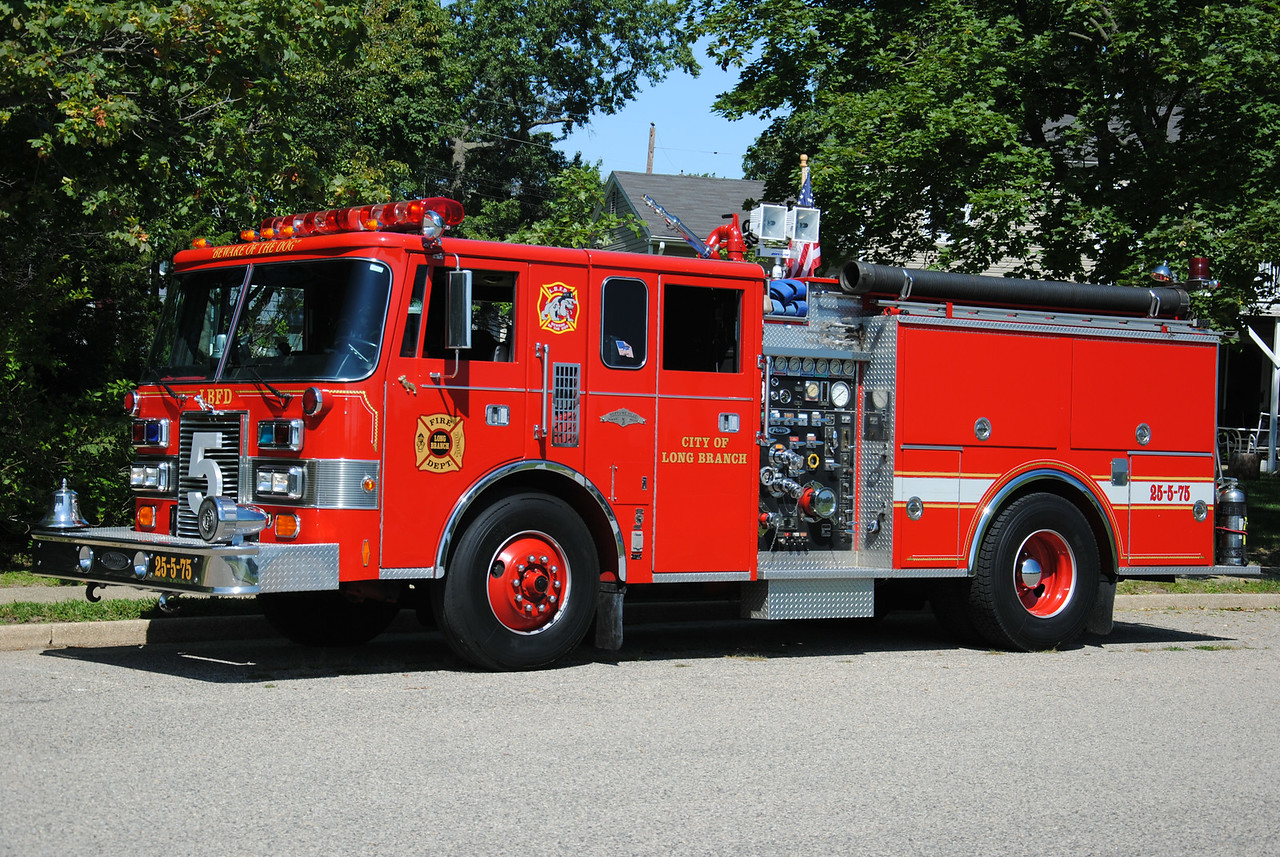 Neptune Hose Company, Long Branch Fire Department Engine 25-5-75
