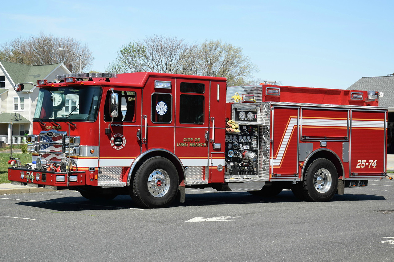 Long Branch Fire Department Engine 25-74