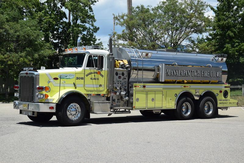 Manalapan Twp Fire Company #1  Tanker 26-2-96