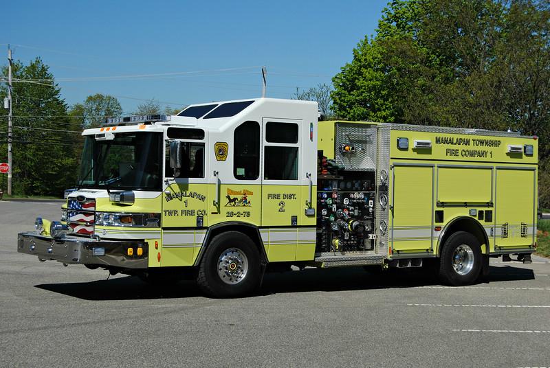Manalapan Twp Fire Company #1 Engine 26-2-78