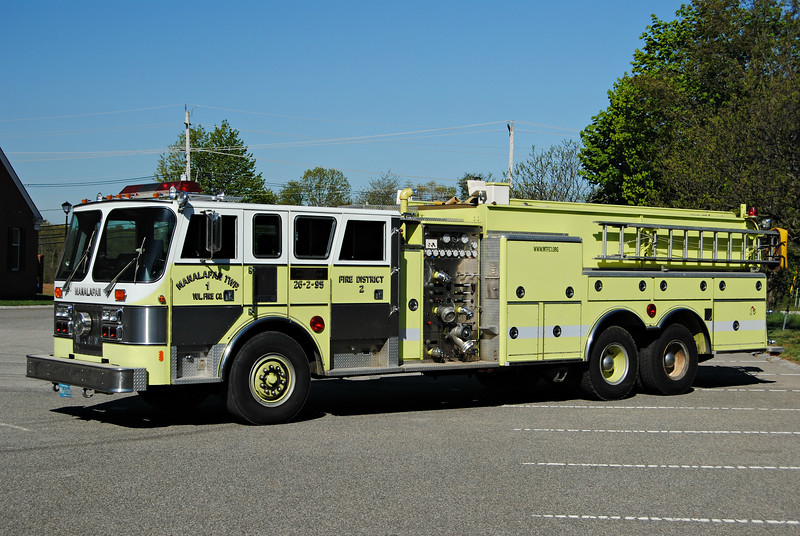 Manalapan Twp Fire Company #1 Tanker 26-2-95
