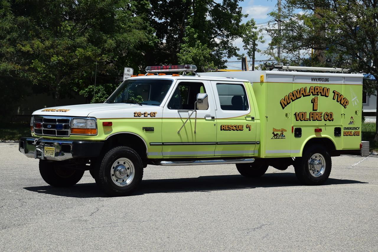 Manalapan Twp Fire Company #1 Rescue 26-2-87