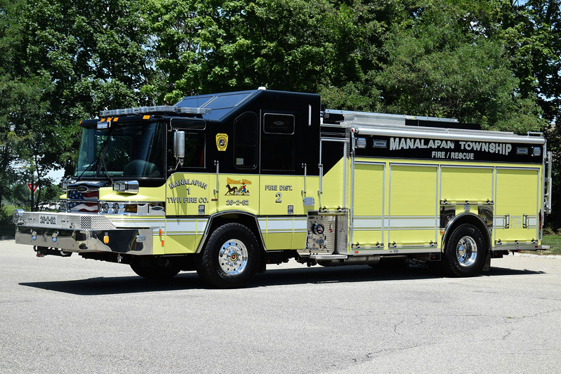 Manalapan Twp Fire Company #1 Rescue Engine 26-2-82