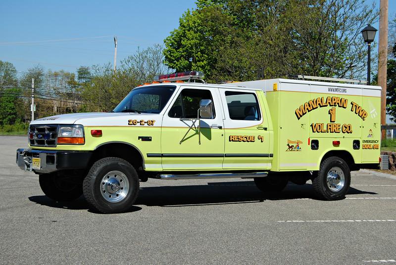 Manalapan Twp Fire Company #1 Mini Rescue 26-2-87