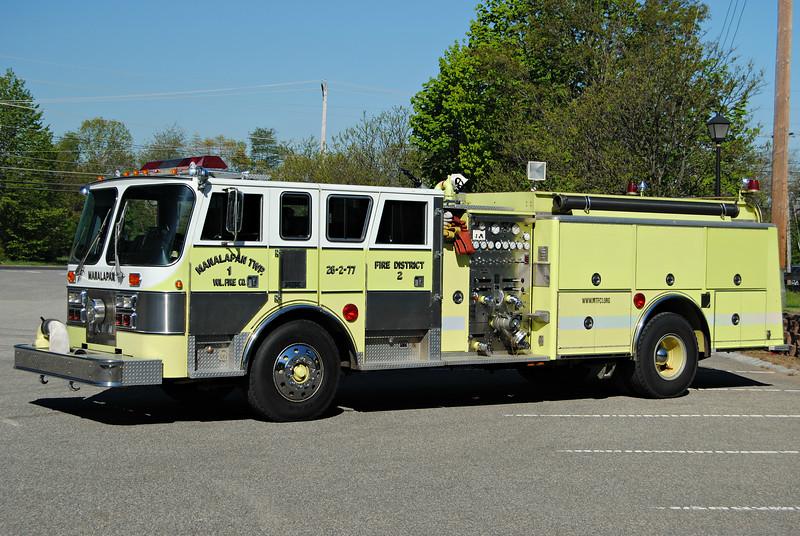 Manalapan Twp Fire Company #1 Engine 26-2-77