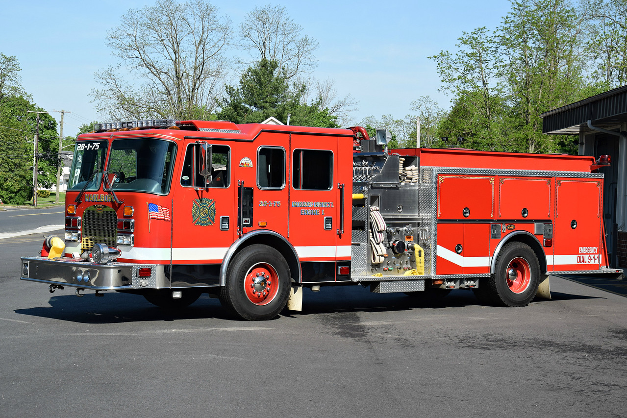 Marlboro Fire Company #1 Engine 28-1-75