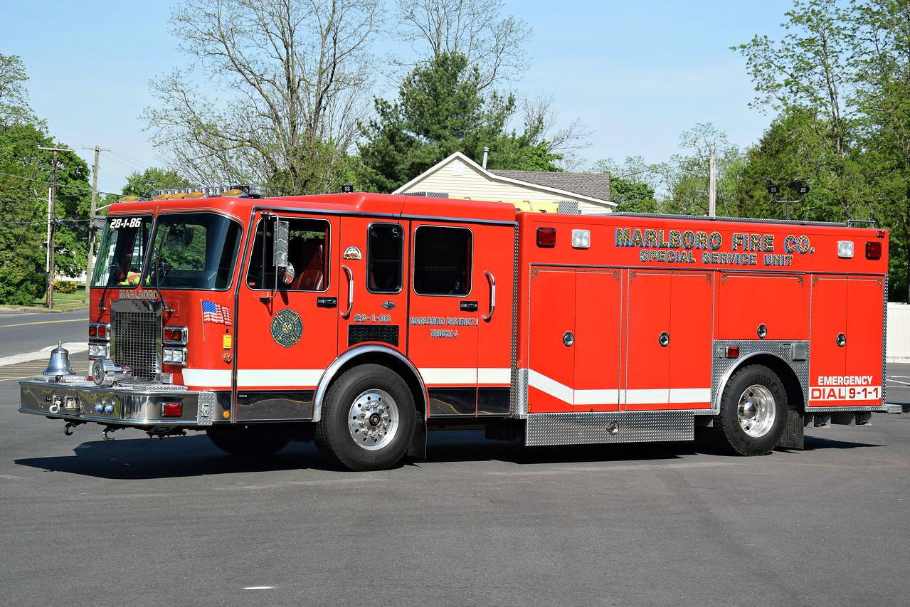 Marlboro Fire Company #1 Rescue 28-1-86