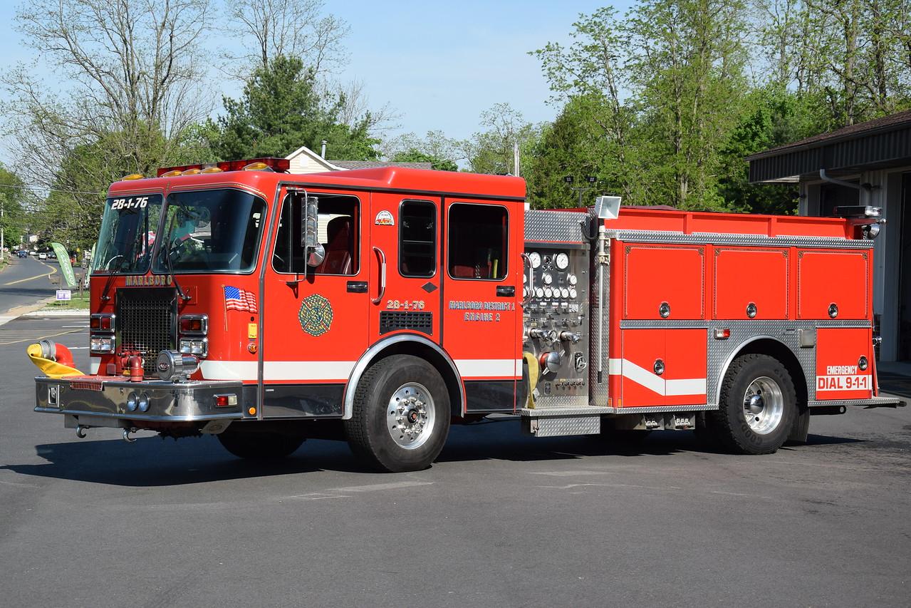 Marlboro Fire Company #1 Engine 28-1-76