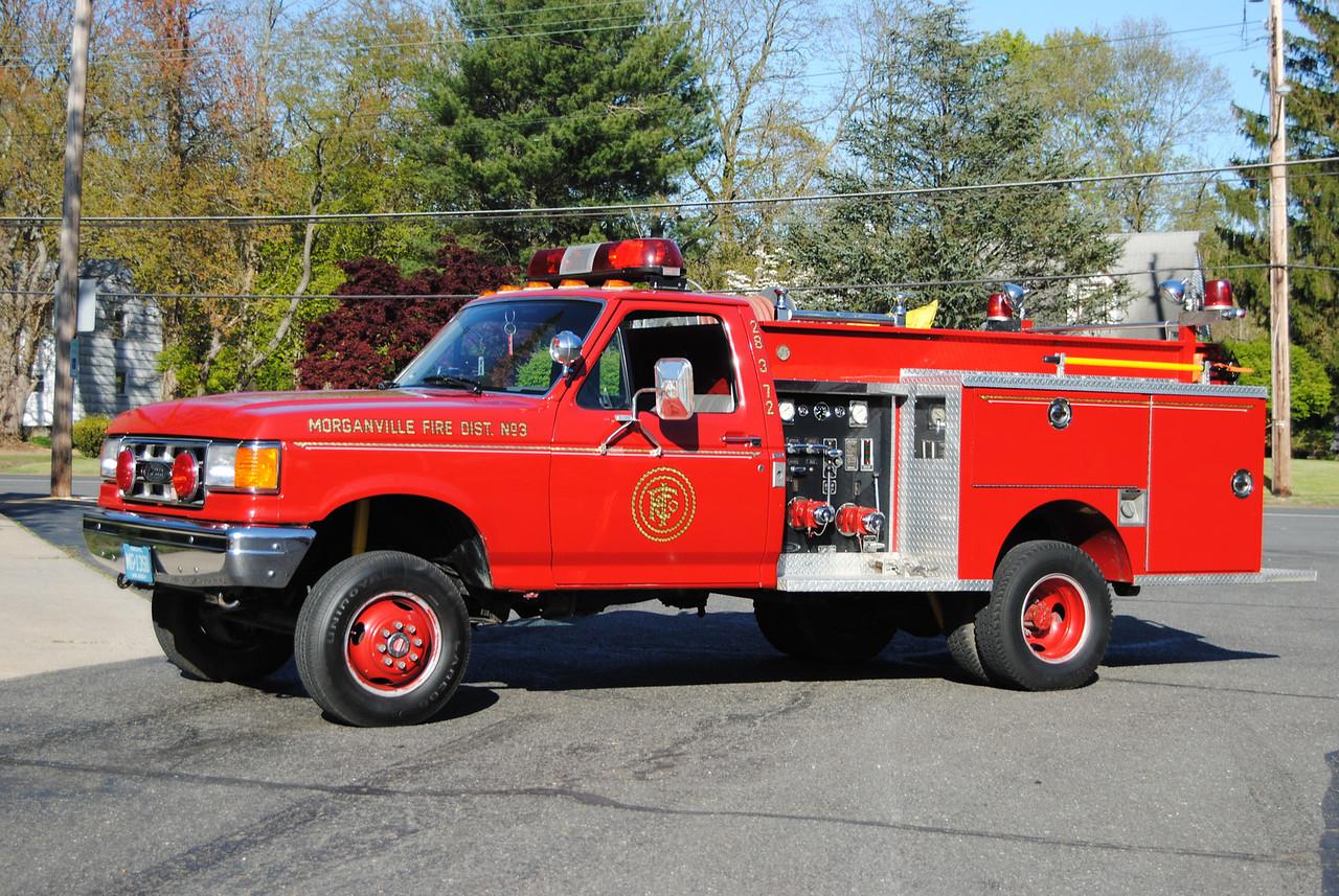 Morganville Independent FD, Marlboro Twp Mini Engine 28-3-72