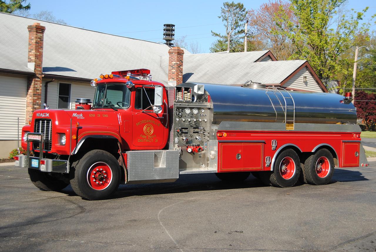 Morganville Independent FD, Marlboro Twp Tanker 28-3-96