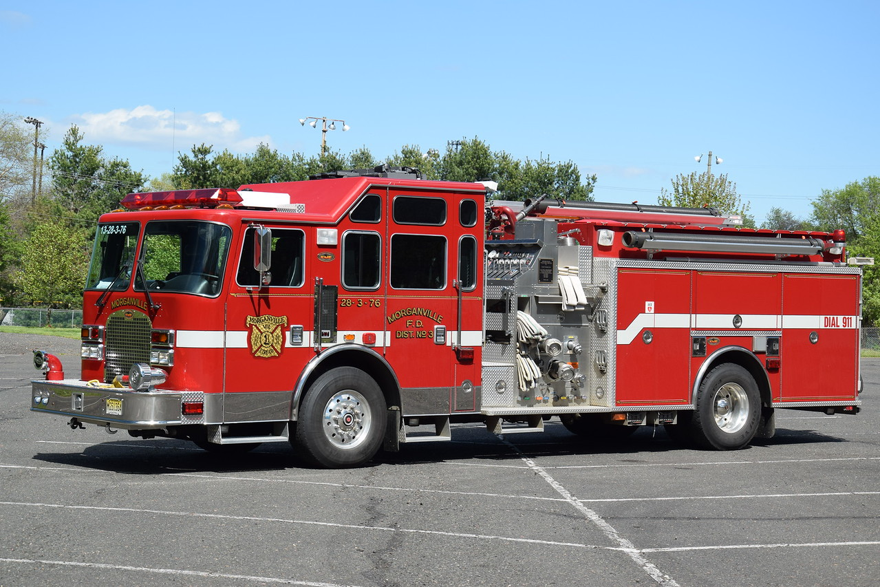 Morganville Fire Company Engine 28-3-76