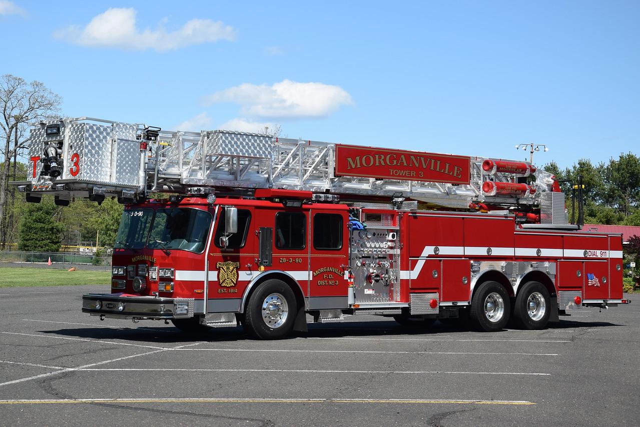 Morganville Fire Company Tower 28-3-90